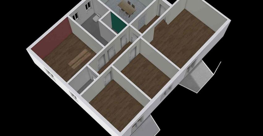 VIA CARNEVALE AMICO Interior Design Render