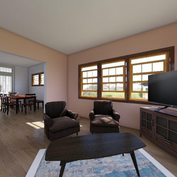 Family Room New Interior Design Render