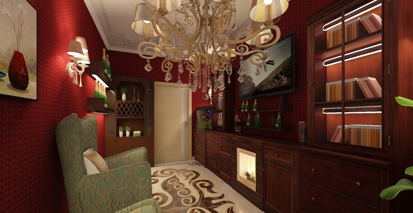 studio g. Interior Design Render