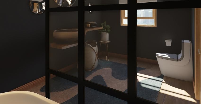 Couple House in Naples Interior Design Render