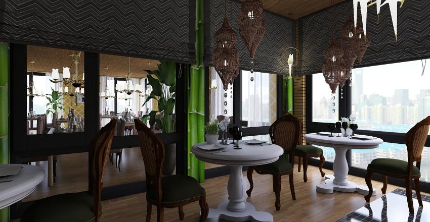 RISTORO Interior Design Render