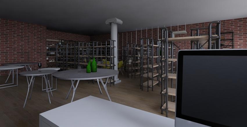 VINOTECA grand cue Interior Design Render