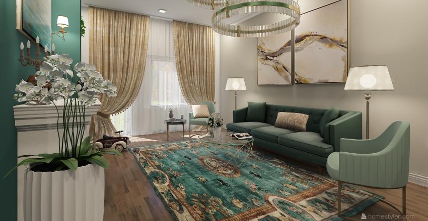 Casa Cluj Salon B Interior Design Render