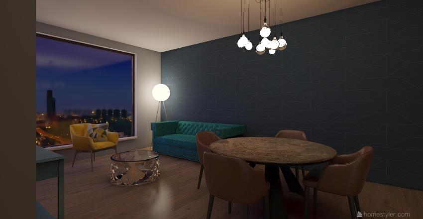 uno Interior Design Render