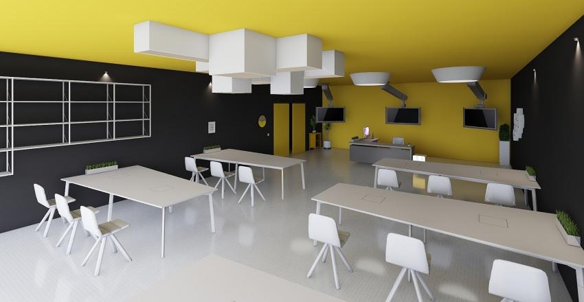 sınıf Interior Design Render