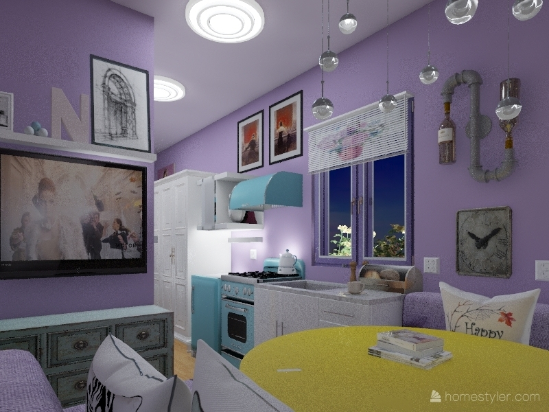 Ferg Camper Interior Design Render