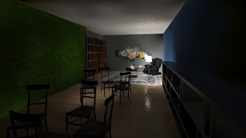 Teacher Retreat Interior Design Render