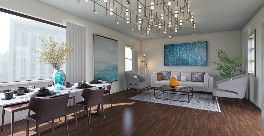 apartment1 Interior Design Render