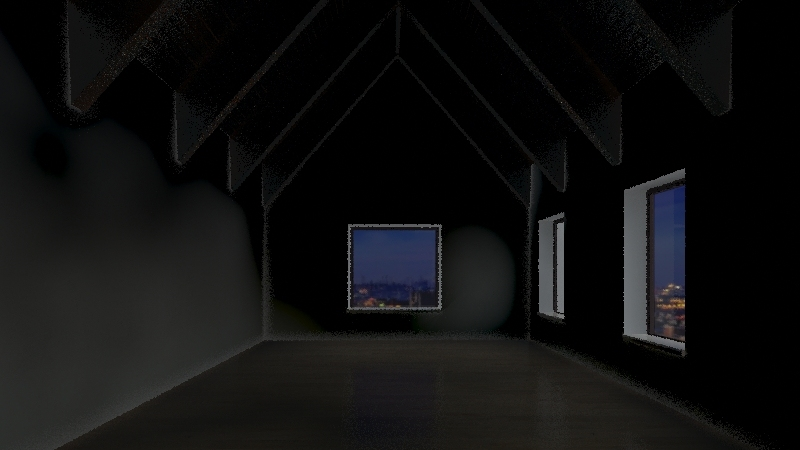 Newent Chapel Interior Design Render