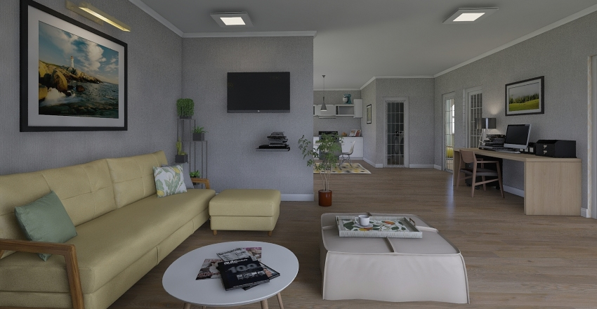 Mom and Dads Interior Design Render