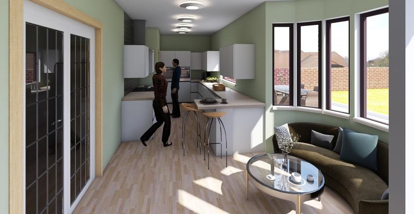 Kitchen8 alternative2 Interior Design Render