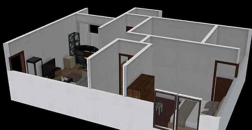 我的小屋 Interior Design Render