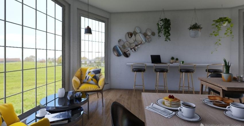 Coffee Shop reno☕ (old) Interior Design Render
