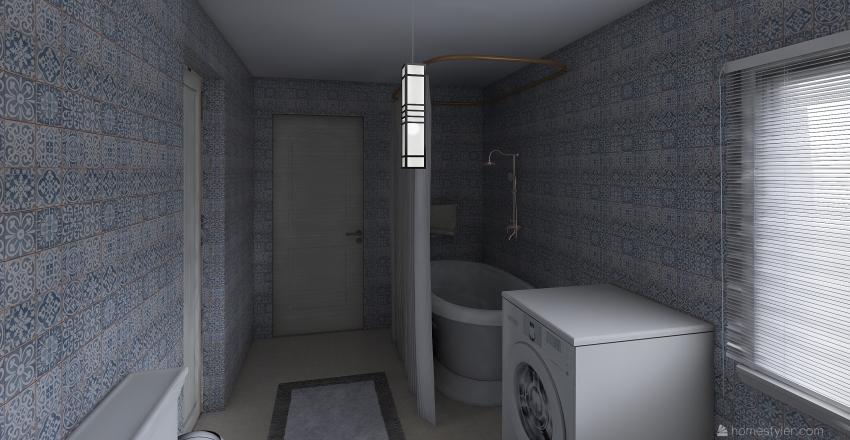super apartament Interior Design Render