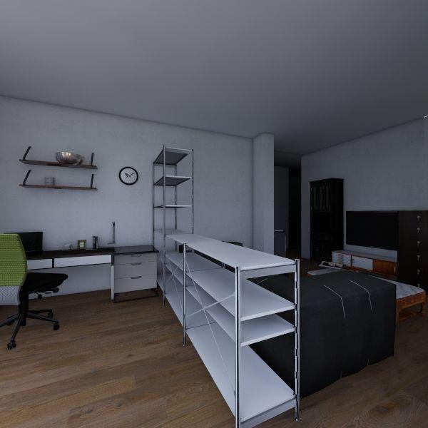 Руська 108 м2 Interior Design Render