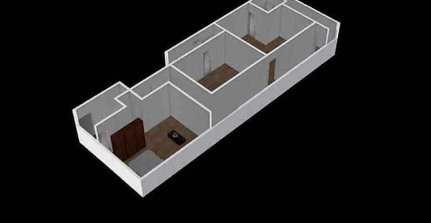蘆洲4樓平面圖 Interior Design Render