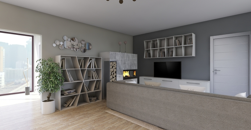Las Vegas Apartment Interior Design Render