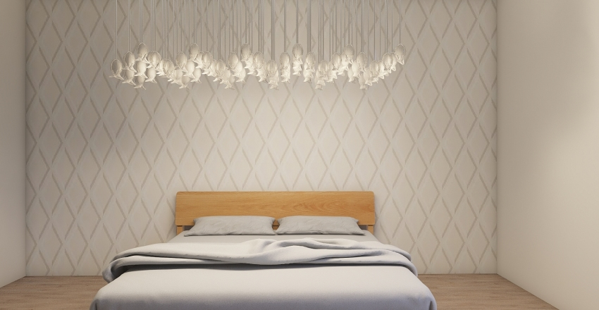 Laila Bedroom  Interior Design Render