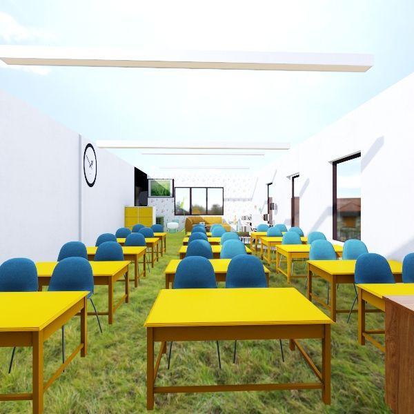 кабинет Interior Design Render