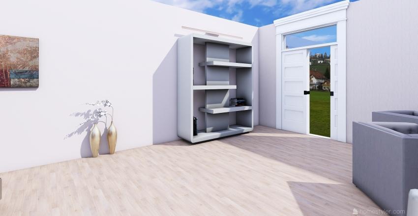 проект гостиная Interior Design Render