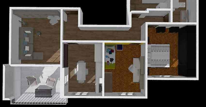 Via Pietra Ligure 15A-9_Pr5 Interior Design Render