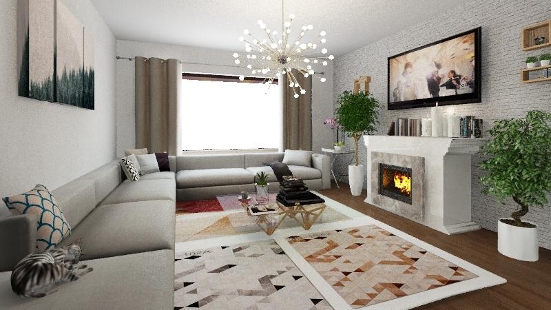 future Interior Design Render