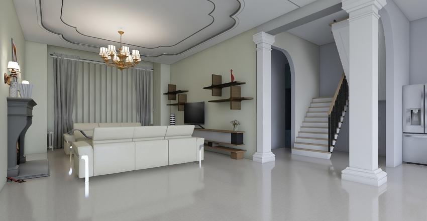 ДИЗАЙН ЗАГОРОДНОГО ДОМА Interior Design Render