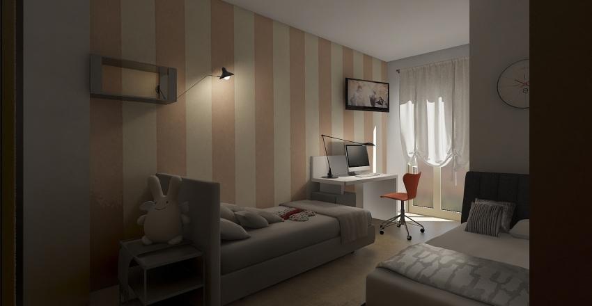 ANDREA MELISSANO Interior Design Render