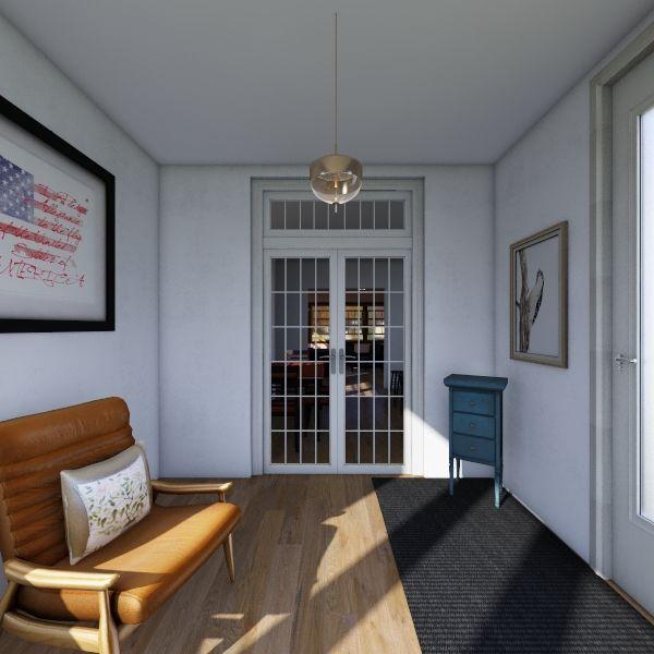 Family Room New Mod Interior Design Render