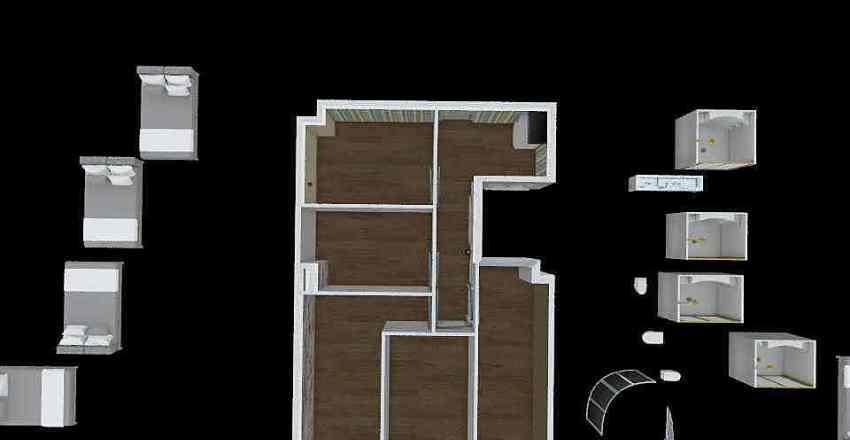 Central 4 room final Interior Design Render