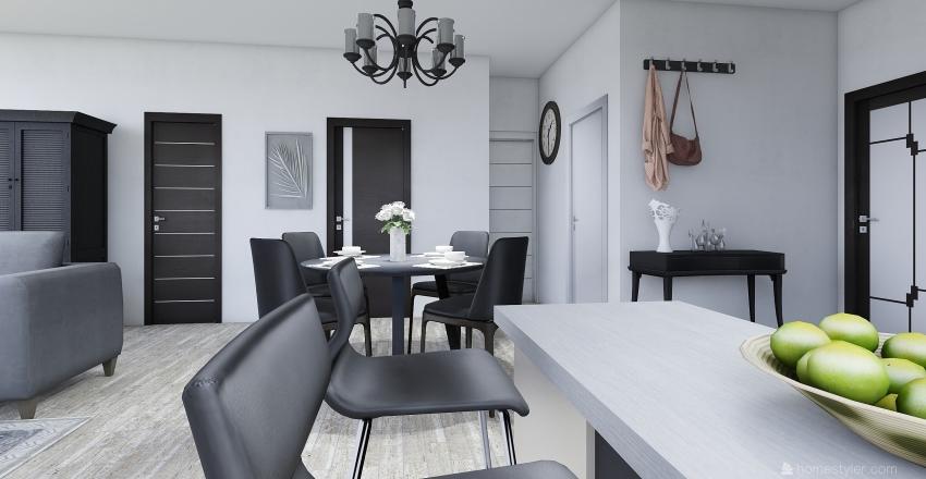 Bunglalow Interior Design Render