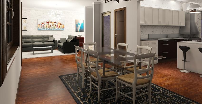 invertido Interior Design Render