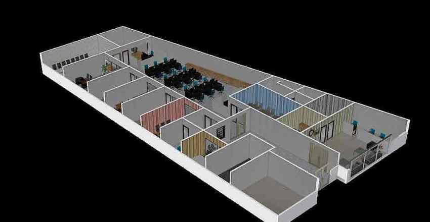 New Office PWS V4 Interior Design Render