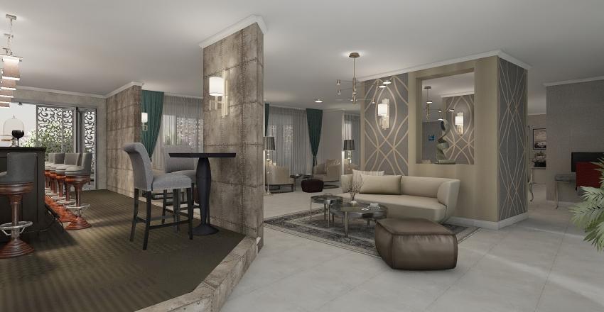 HOTEL  Interior Design Render
