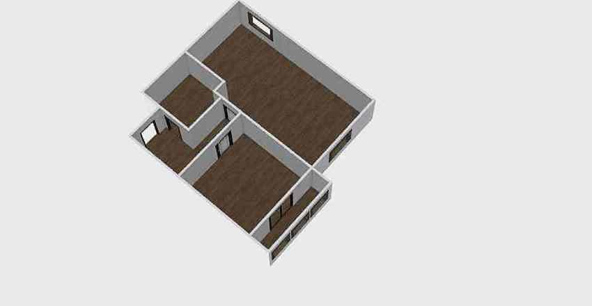 1-комн_0340 Interior Design Render