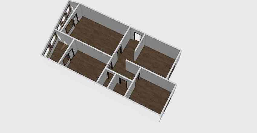 3-комн_0218 Interior Design Render