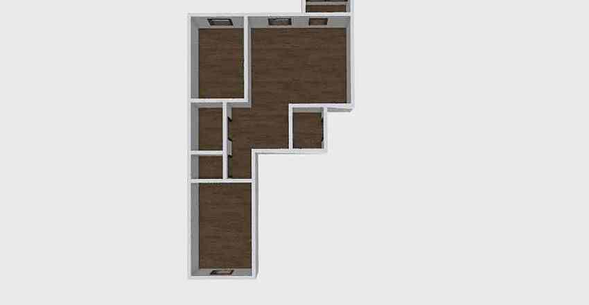 3-комн_0217 Interior Design Render