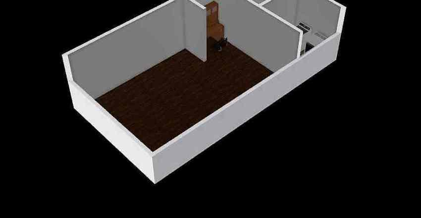 an ugly dorm Interior Design Render