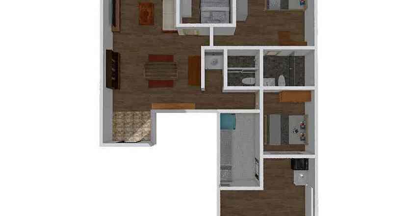 美麗新天地 Interior Design Render