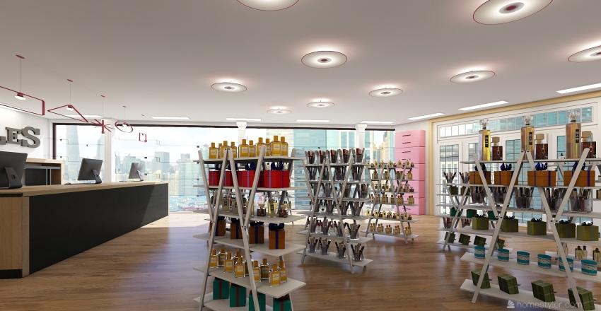 Love Bottles Interior Design Render