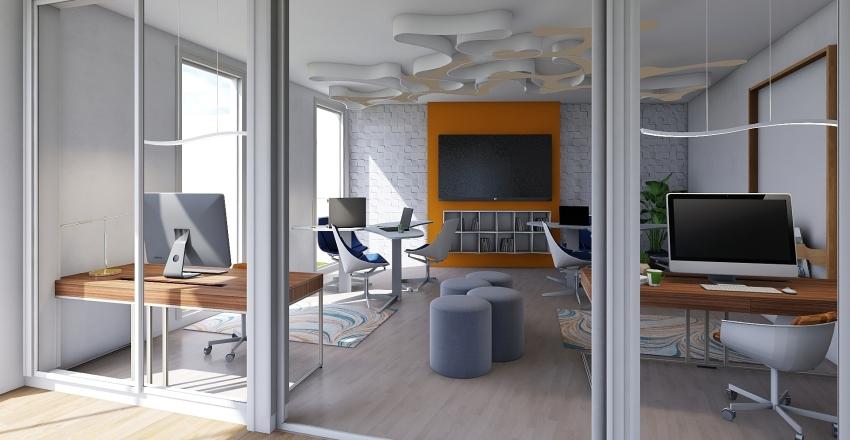 Administración UCU  Interior Design Render