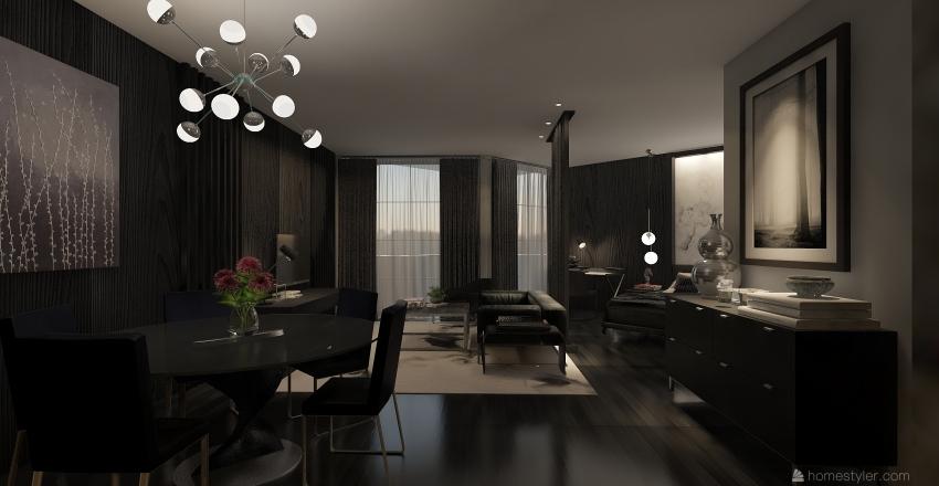 Studio 1  Interior Design Render