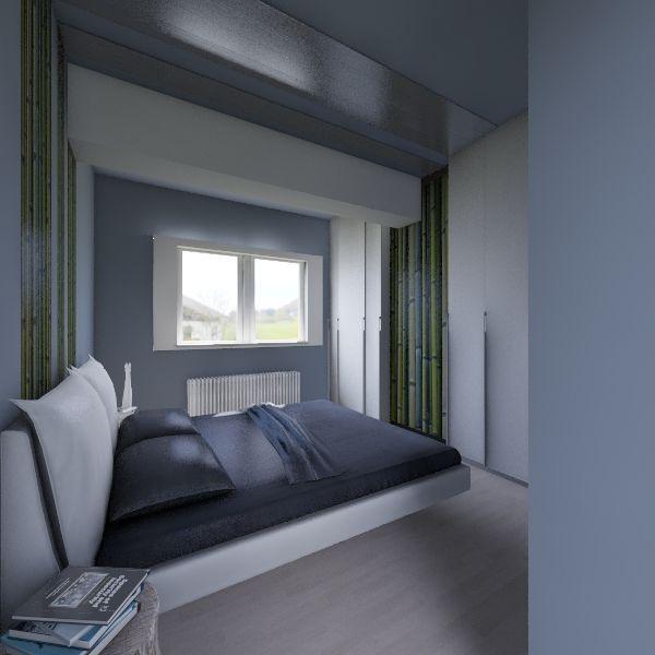 Boema Bedroom Interior Design Render
