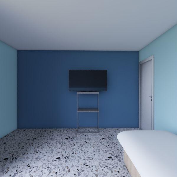 Cuarto Antes Interior Design Render