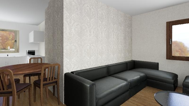 Nerijaus namai Interior Design Render