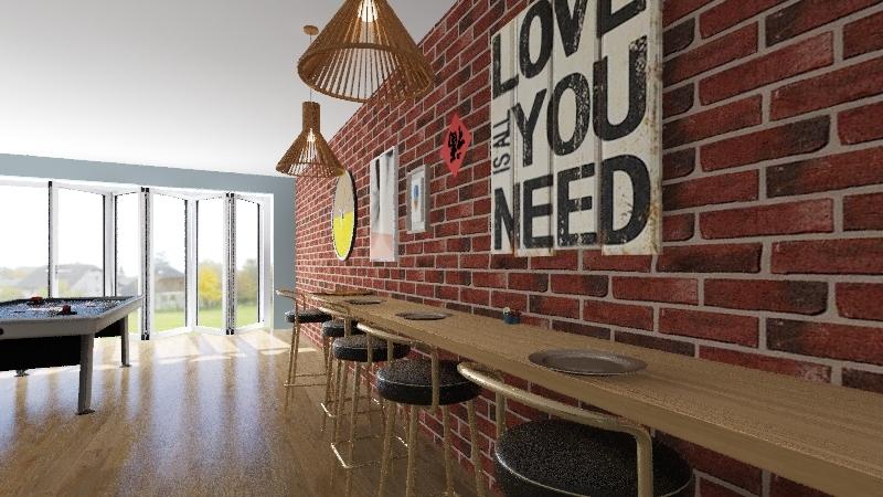 Emilia's House Interior Design Render