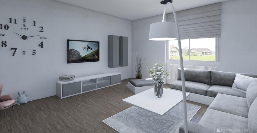 Obývací pokoj - Jana Interior Design Render