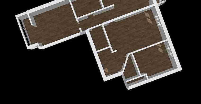 Проект квартиры 1 Interior Design Render