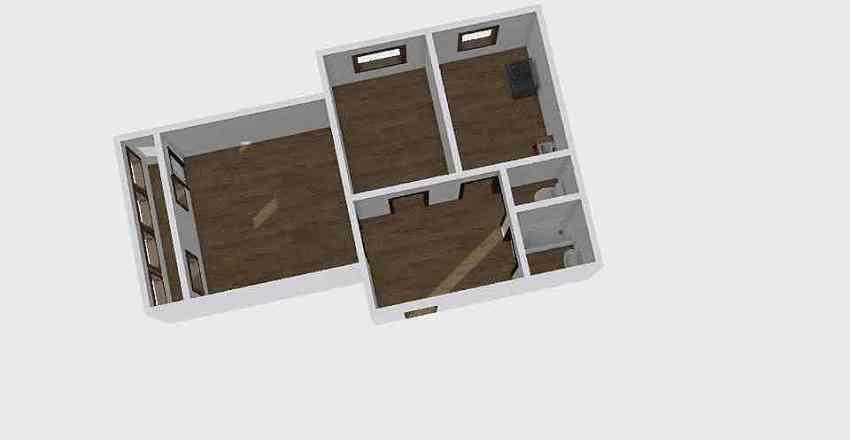 2-комн_0320 Interior Design Render