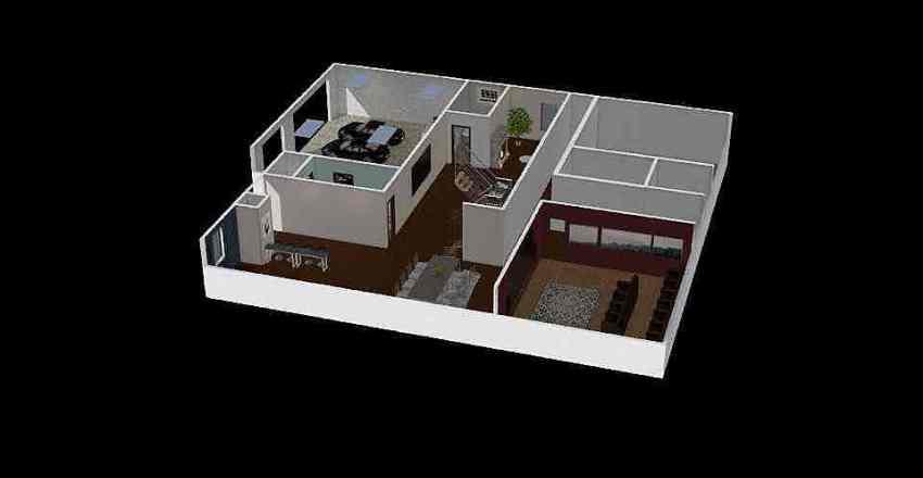 haileys house Interior Design Render